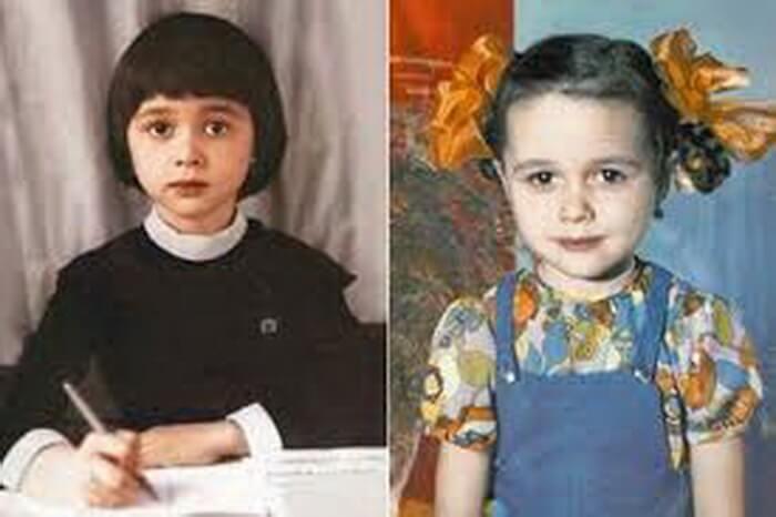 Анастасия Заворотнюк в детстве