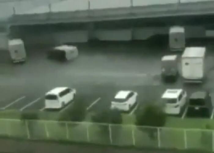 Тайфун «Хагибис» обрушился на Японию