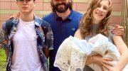 Лиза Арзамасова и Илья Авербух определись с именем сына