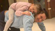 Авраам Руссо похвастался фотографией с семилетней дочкой