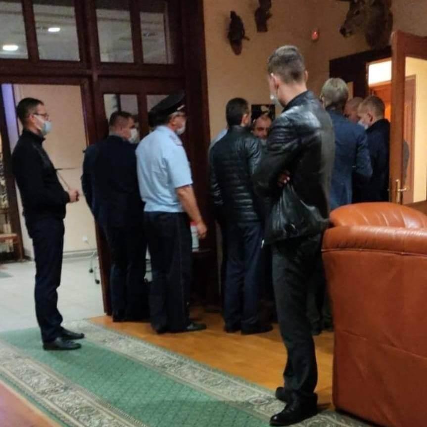 Среди гостей Тилля Лиденманна был один полицейский