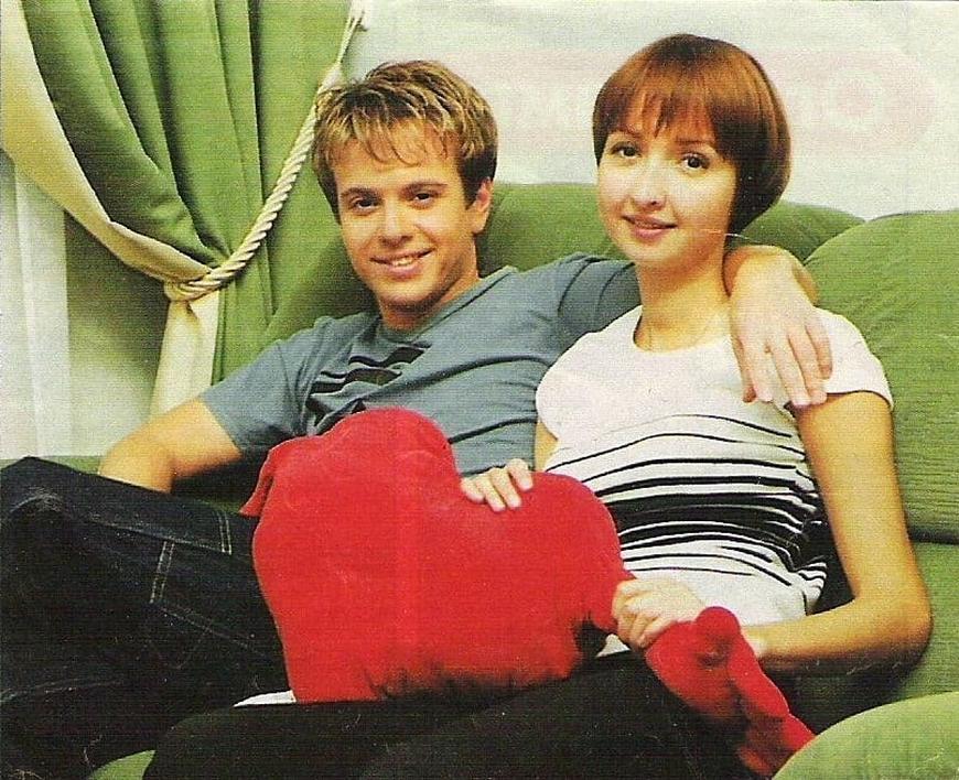 Андрей Губин с сестрой Анной